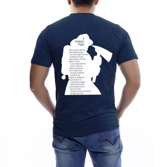 Smoke&Stash Nvy Tshirt Men – Back