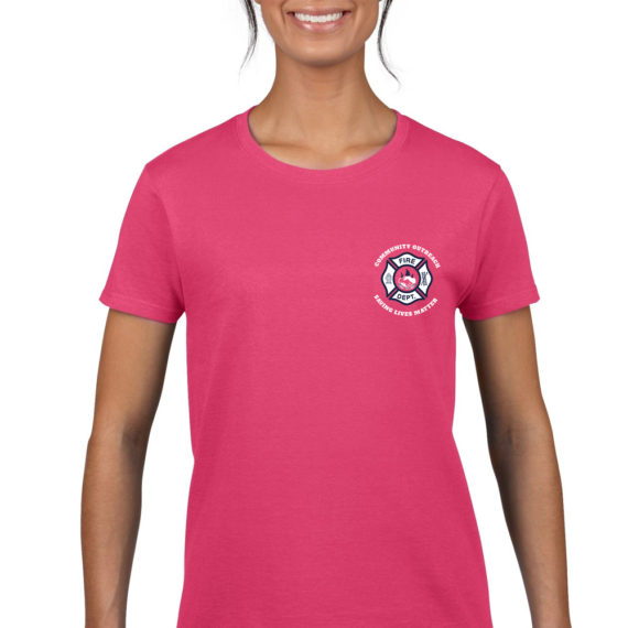 saving lives matter fuschia – front