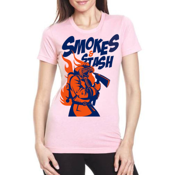 smoke & stash pink – front