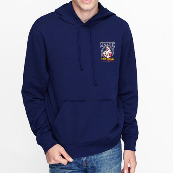 Engine 12 The Cage Navy Hoodie Front