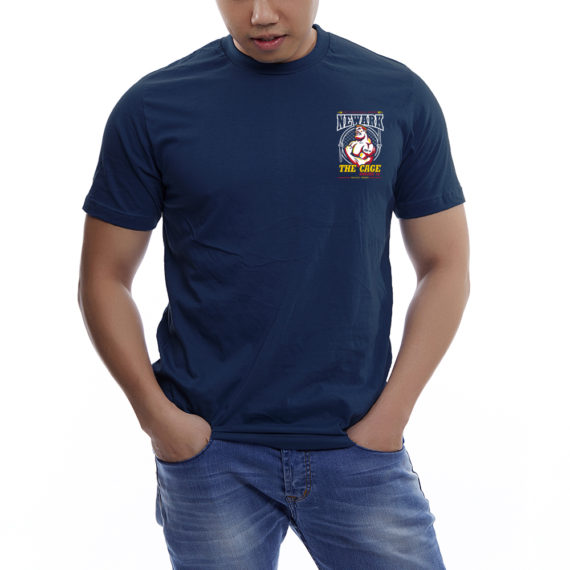 Engine12 The Cage Navy Tshirt Front