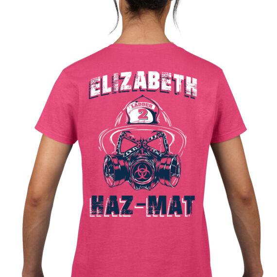 Elizabeth HazMat Pink – BACK