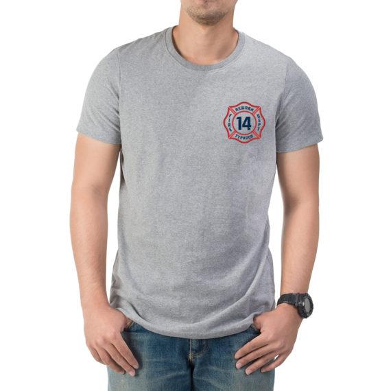 Typhoon – Mockup FRONT – Gray Tshirt