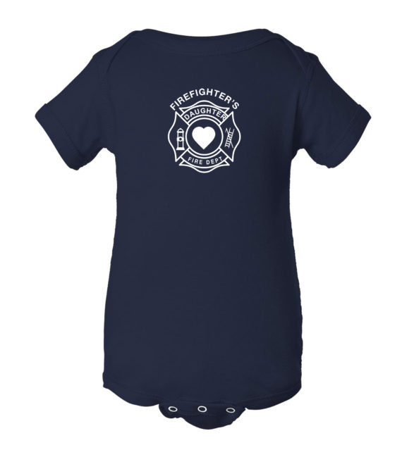 Daughter – Navy_Onesie – FRONT