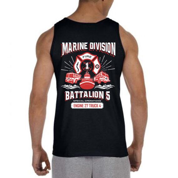 Marine Division BLACK TANK Back