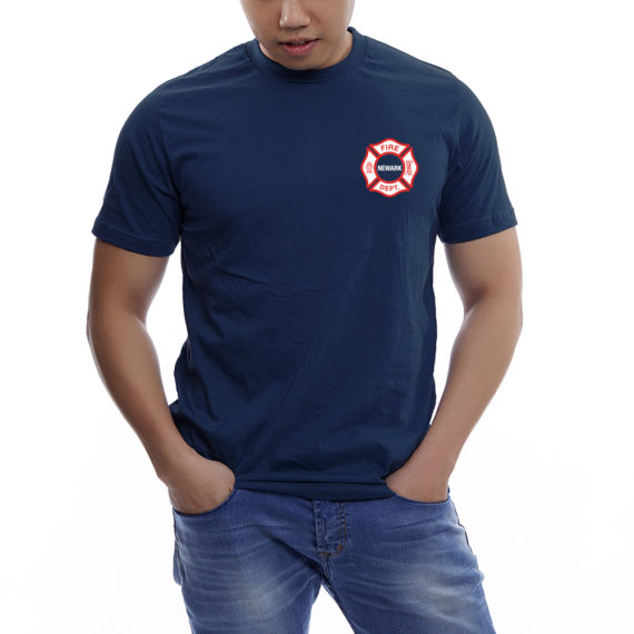 The Burg NAVY TSHIRT – FRONT